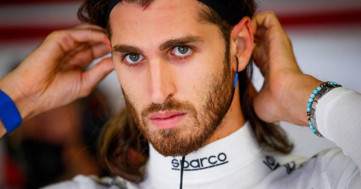 Antonio Giovinazzi on sprint qualifying day for the Italian GP. Monza September 2021.