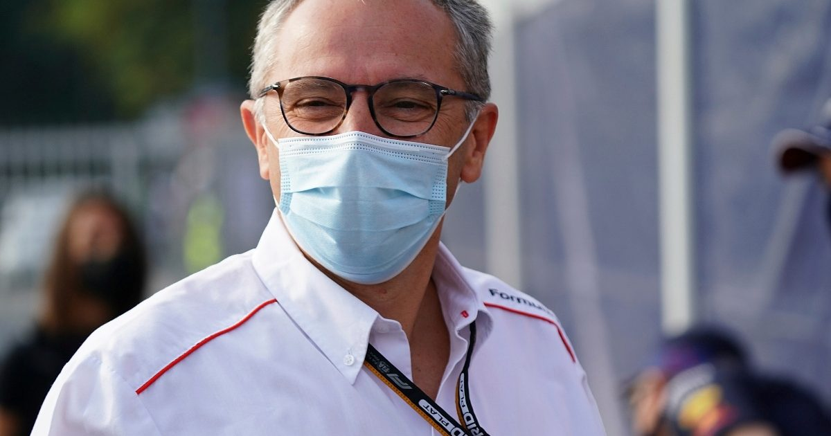 Stefano Domenicali in Monza. Italy September 2021