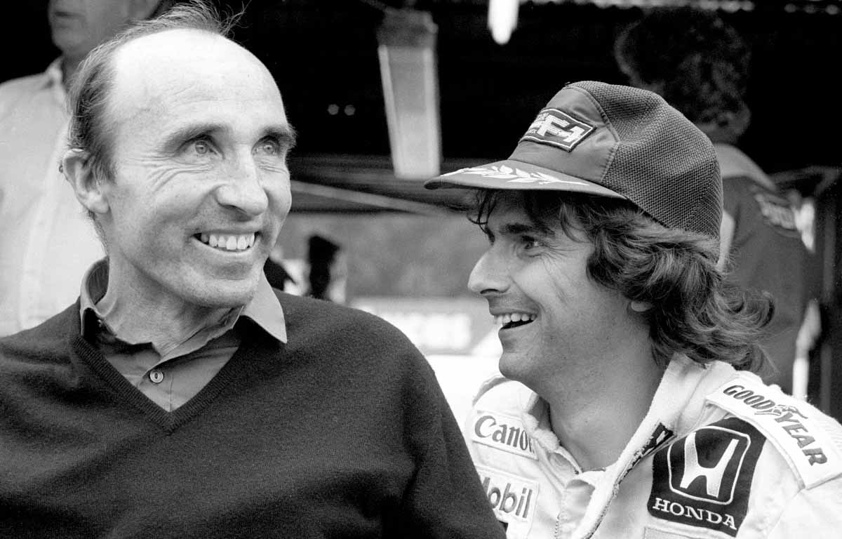 Frank Williams and Nelson Piquet.