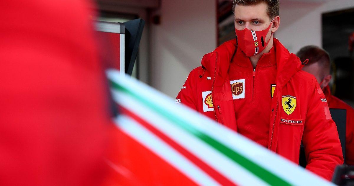 Mick Schumacher testing for Ferrari. Italy January 2021