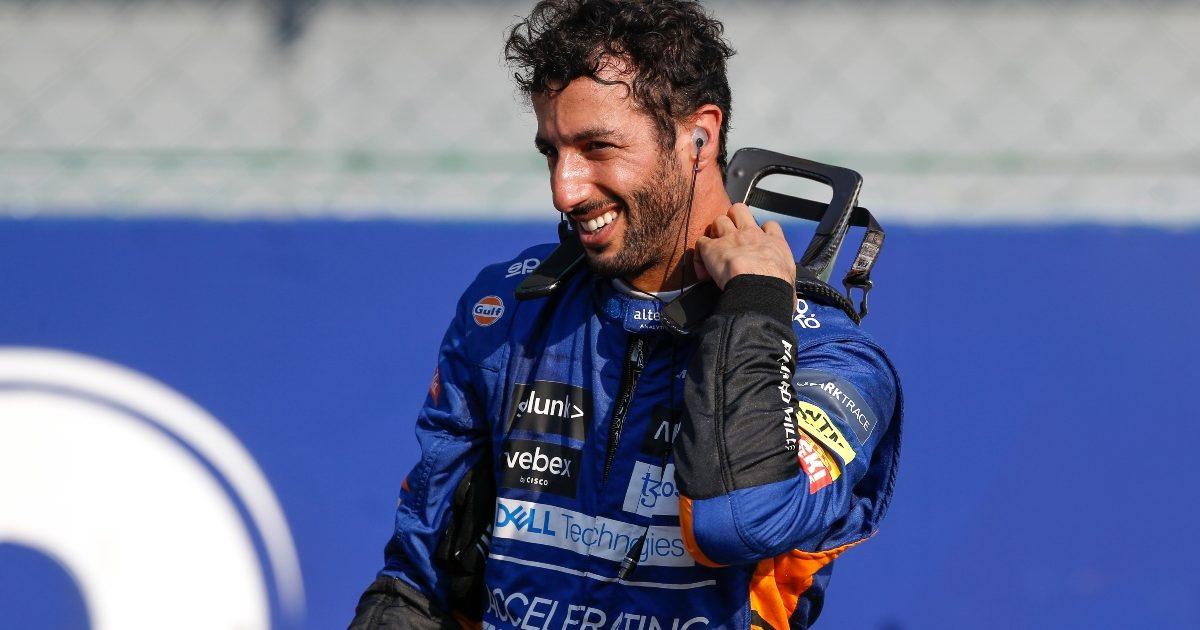 Daniel Ricciardo at Monza. Italy September 2021