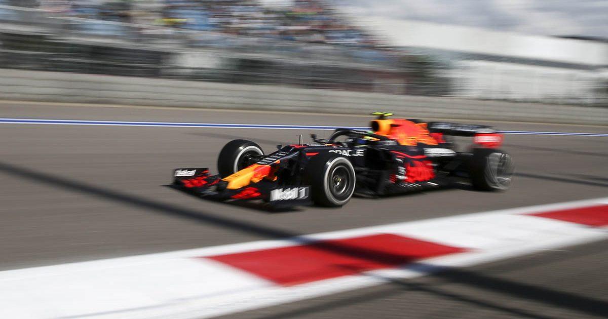 Max Verstappen in Russia. Sochi September 2021