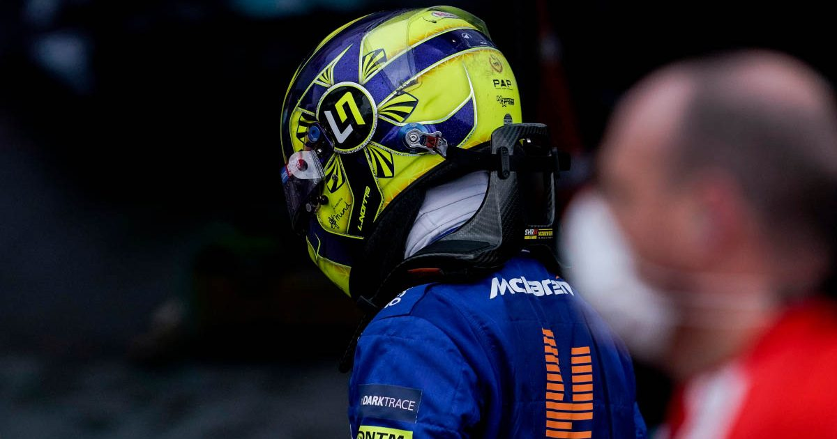 McLaren driver Lando Norris is left disappointed after the Russian GP.