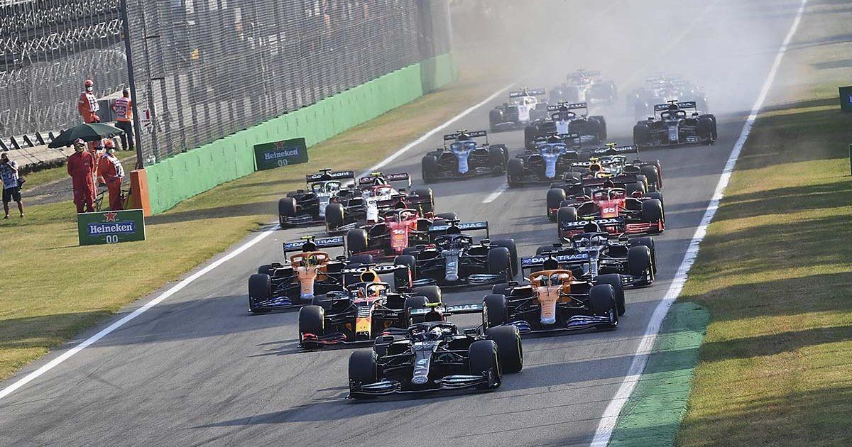 Monza sprint race. September Monza 2021