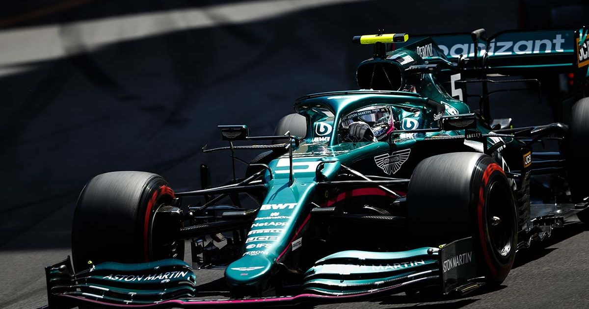 Sebastian Vettel at Monaco. Monte Carlo May 2021