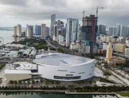 Downtown Miami. USA May 2021
