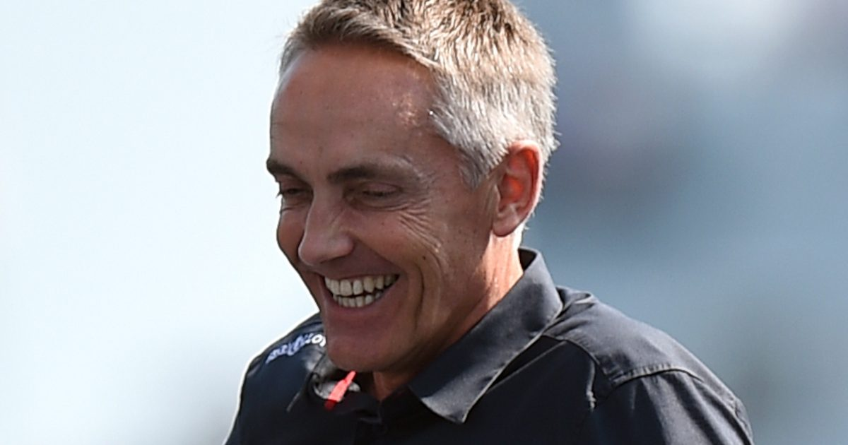 Martin Whitmarsh laughing. Portsmouth June 2016