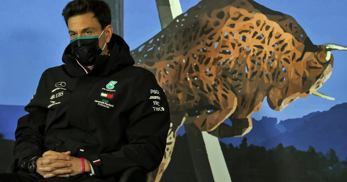 Toto Wolff speaking to the media. Austria July 2020
