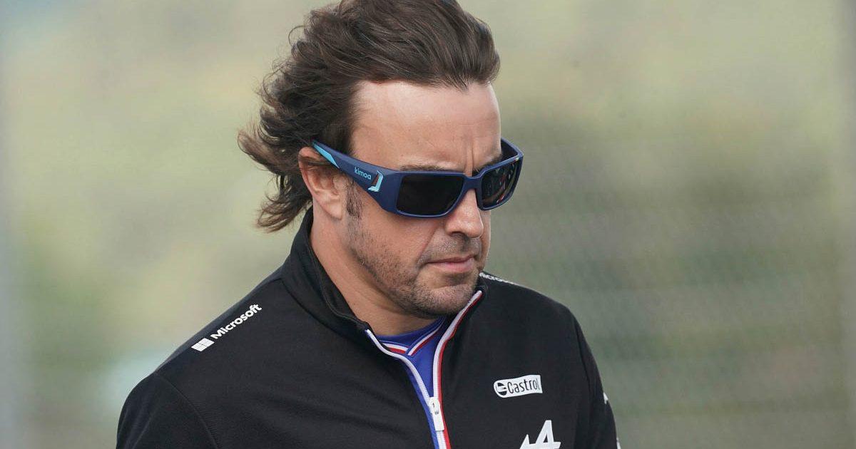 Fernando Alonso Turkey track walk. October 2021.
