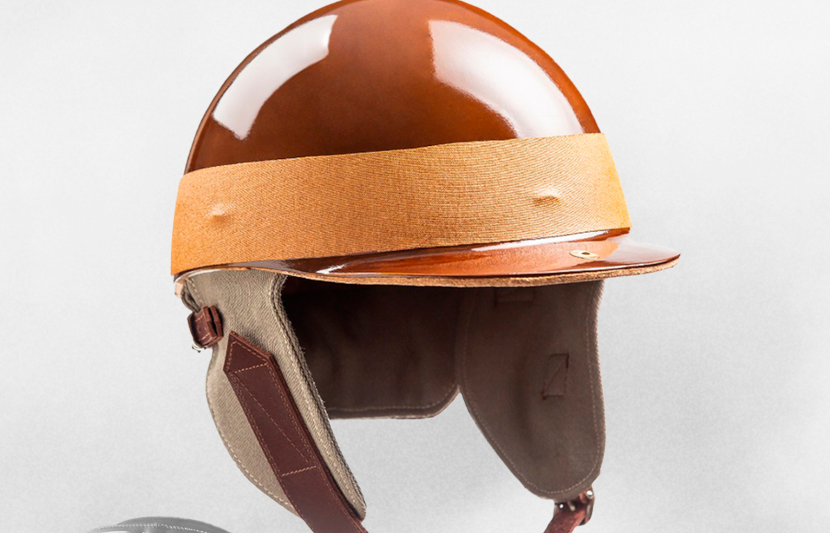 Juan Manuel Fangio helmet for Mexican pole sitter. Mexico October 2021