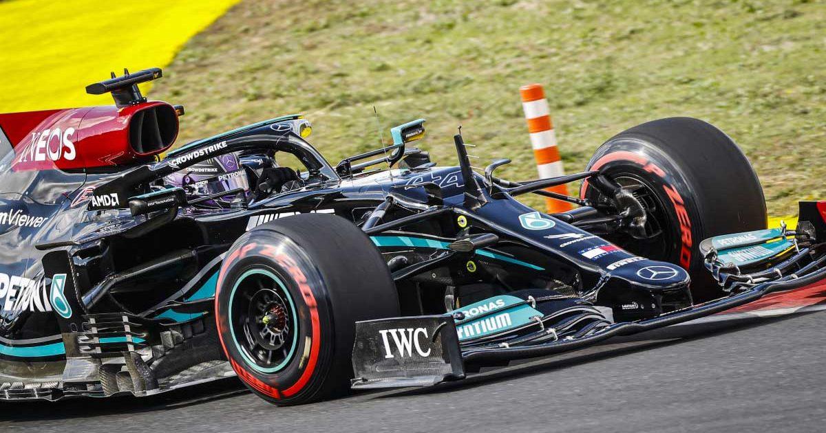 Lewis Hamilton in FP2 in Turkey. October 2021.