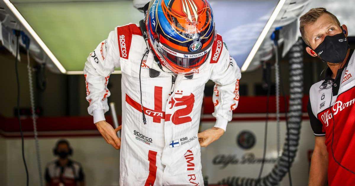 Kimi Raikkonen in Turkey free practice. October 2021.