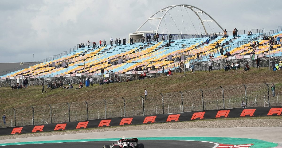 The stands at Istanbul Park. Turkey October 2021