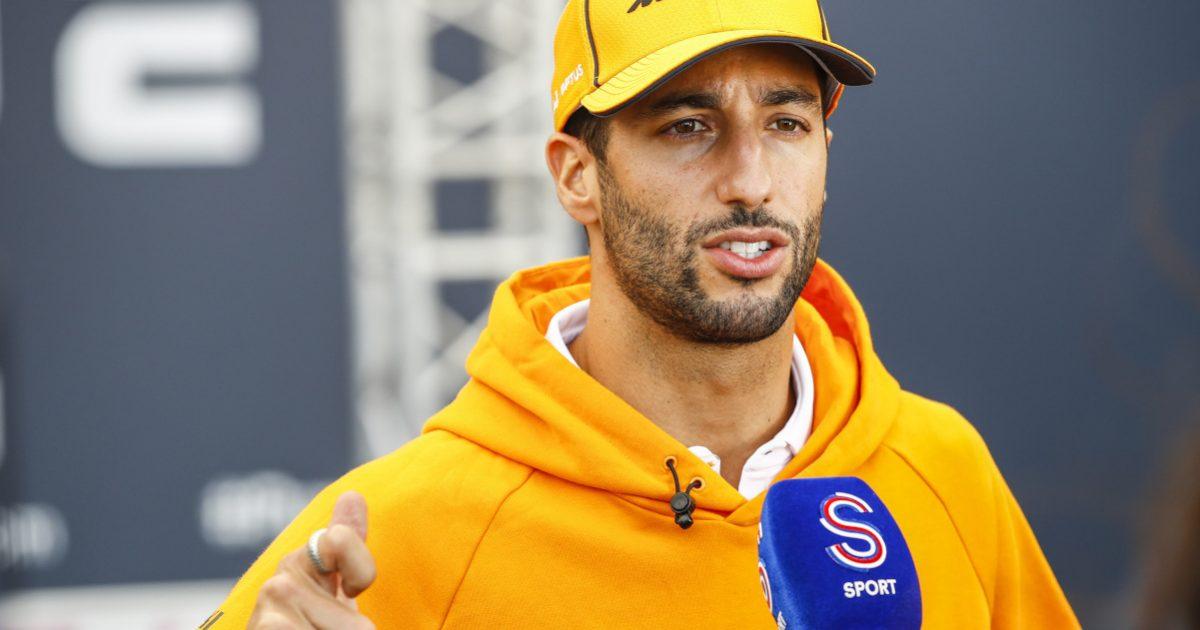 Daniel Ricciardo not happy interview. Turkey October 2021