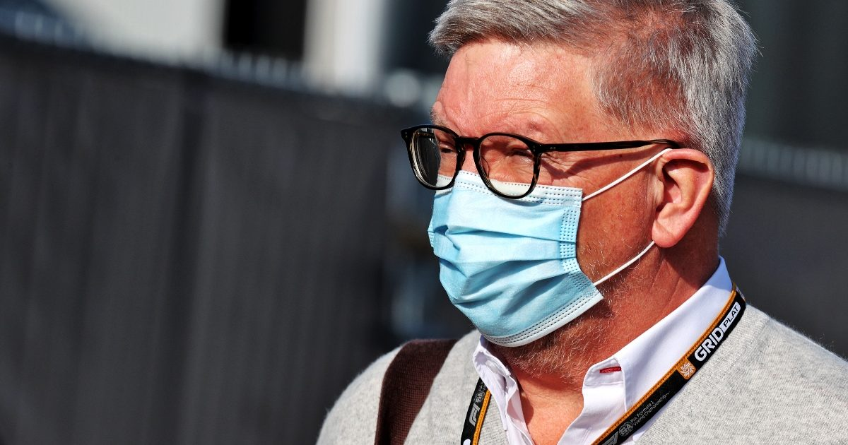 Ross Brawn at the Dutch Grand Prix. Netherlands September 2021
