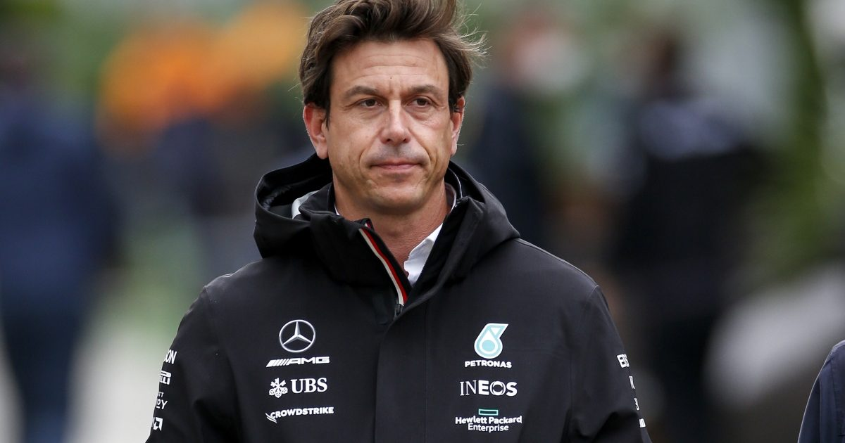 Toto Wolff walking. Russia September 2021
