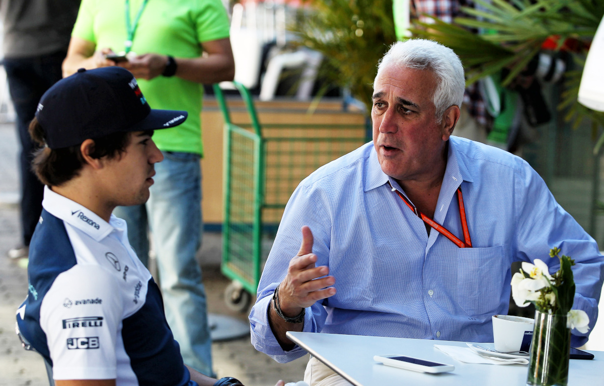 Lance and Lawrence Stroll during his Williams time. Brazil November 2017