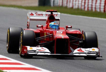 Fernando Alonso at Ferrari. Spain May 2012.