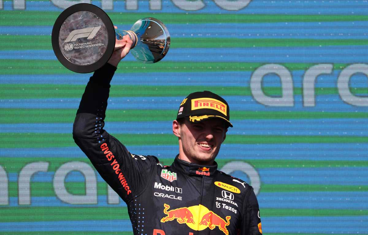 Max Verstappen holds off Lewis Hamilton to win thrilling United States GP